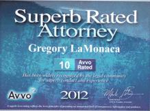avvo rating 2012